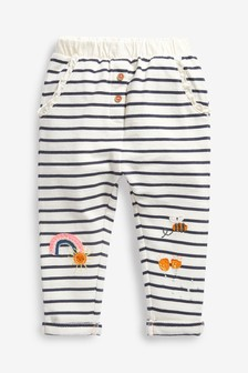 Stripe Character Joggers Soft Touch Jersey (3mths-7yrs)