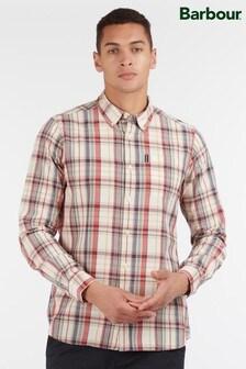Barbour® Cream Madras 8 Tailored Shirt