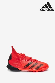 adidas Red Predator P3 Kids Turf Football Boots