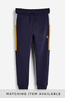 Navy Side Tape Joggers (3-16yrs)