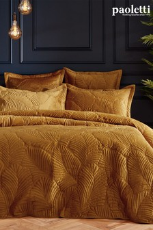 Palmeria Duvet Cover and Pillowcase Set by Riva Paoletti