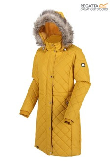 Regatta Yellow Zella Quilted Insulated Jacket