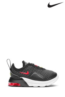 Nike Charcoal/White Air Max Motion Infant Trainers