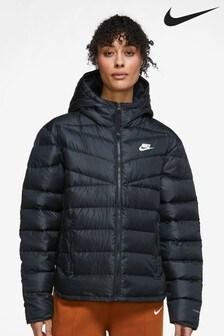 Nike Black Wind Runner Down Fill Jacket