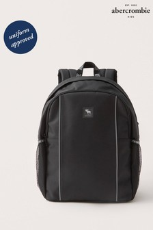 Abercrombie & Fitch Black Backpack
