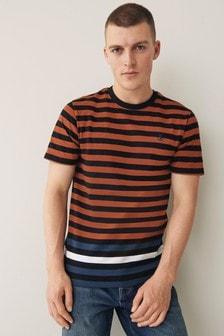 Orange/Black Stripe T-Shirt