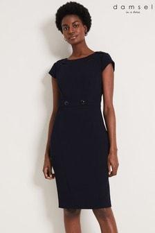 Damsel In A Dress Blue Margot City Suit Dress