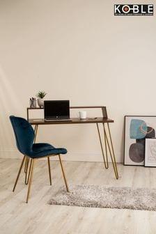 Wood Bea Walnut Smart Desk By Koble