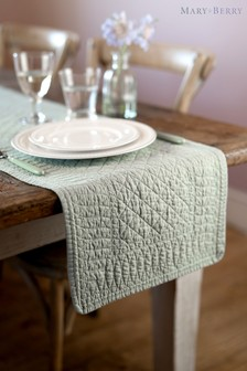 Mary Berry Pistachio Quilted Table Runner