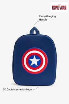 Navy Captain America Backpack