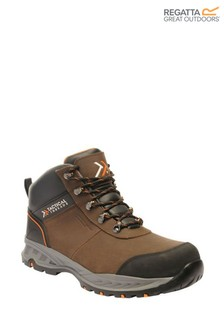 Regatta Brown First Strike SBP Safety Boots