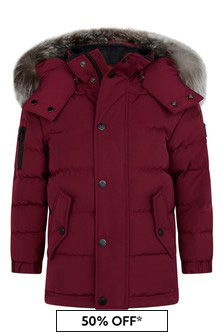 Kids Red Padded Jacket