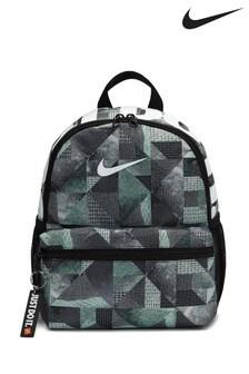 Nike Kids Black Printed JDI Brasilia Backpack
