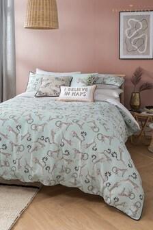 Yvonne Ellen Cheeky Cheetah Duvet Cover And Pillowcase Set