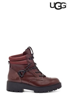 UGG® Burgundy Tioga Hiker Boots