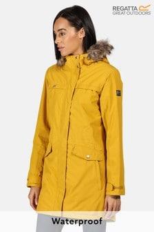 Regatta Yellow Serleena II Waterproof Jacket