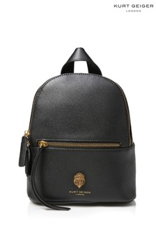 Kurt Geiger London Richmond Black Backpack