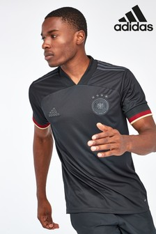 adidas Germany Black Away Football Shirt