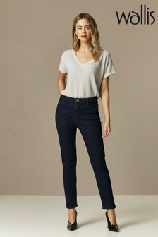 Wallis Petite Indigo Slim Leg Jeans