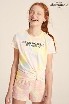 Abercrombie & Fitch Logo Tie Dye T-Shirt