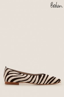 Boden Animal Julia Pointed Flats