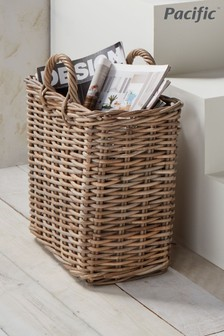 Kubu Magazine Storage Basket by Pacific