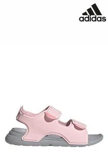 adidas Pink Swim Sandals