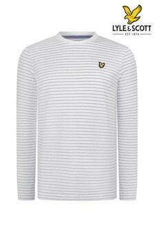 Lyle & Scott Textured Stripe T-Shirt