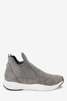 Grey Forever Comfort® Neoprene Chelsea Boots