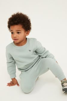 Mint Crew and Joggers Jersey Set (3mths-7yrs)