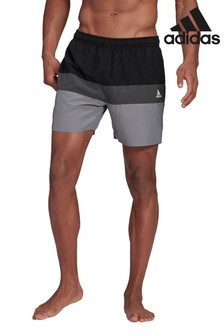 adidas Colourblock 3 Stack Swim Shorts