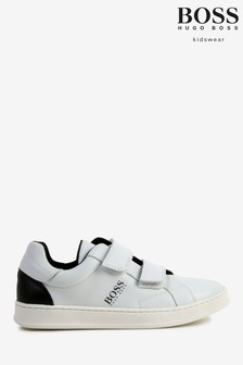 BOSS White Trainers