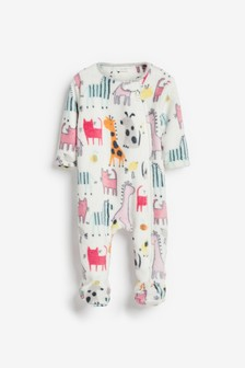Bright Character Fleece Sleepsuit (0mths-3yrs)