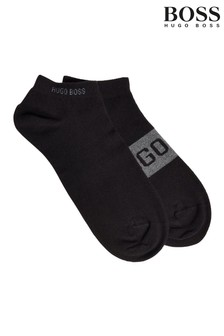 BOSS Logo Ankle Socks Two Pack