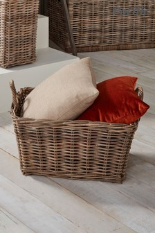 Kubu Oblong Storage Basket by Pacific