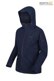 Regatta Blue Womens Highside V Waterproof Jacket