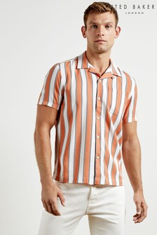 Ted Baker TENCEL™ Lyocell Stripe Shirt