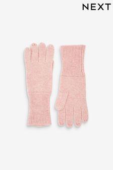 Blush Cashmere Blend Gloves