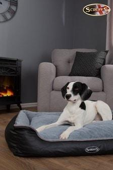 Washable Large Breed Chateau Memory Foam Orthopaedic Dog Bed by Scruffs®