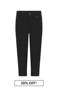 بنين أسود جينز
