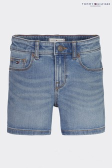 Tommy Hilfiger Blue Nora Denim Shorts