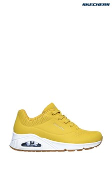 Skechers® Yellow Uno Stand On Air Trainers