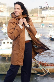 Seasalt Brown Seafaring Butterscotch Coat