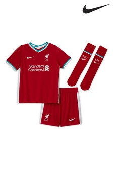 Nike Liverpool Football Club 2021 Little Kids Home Set