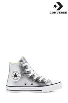 Converse Metallic Youth Trainers