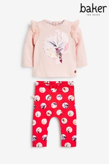 Baker by Ted Baker Top And Leggings 2 Piece Set