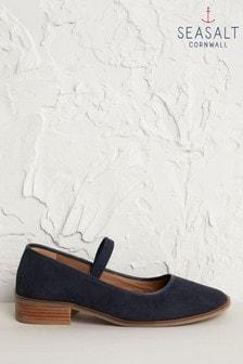 Seasalt Blue Rye Grass Inkwell Shoes