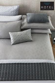 Peacock Blue Bahia Duvet Cover and Pillowcase Set