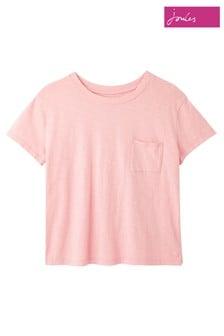 Joules Pink Sofi Pocket T-Shirt