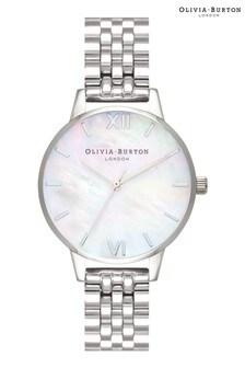 Olivia Burton Mother Of Pearl Bracelet Watch